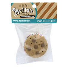 Molly's Barkery Cookie Sandwich Dog Treat - Apple Cinnamon