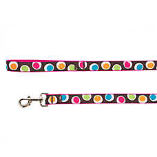 Top Paw® Groovy Dot Dog Leash