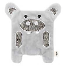 ED Ellen DeGeneres Flattie Hippo Dog Toy - Crinkle