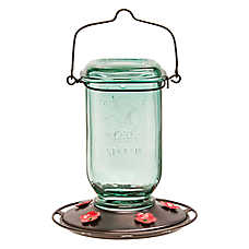 More Birds™ Mason Jar Hummingbird Feeder