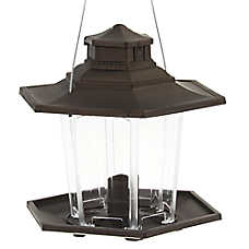 More Birds™ SureFill No Spill Plastic Lantern Feeder