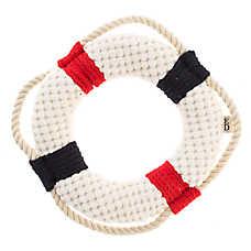 ED Ellen DeGeneres Lifesaver Dog Toy - Plush, Rope