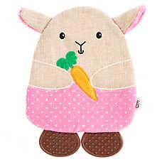 ED Ellen DeGeneres Flattie Bunny Dog Toy - Crinkle