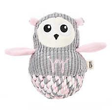 ED Ellen DeGeneres Rope Body Owl Dog Toy