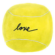 ED Ellen DeGeneres Love Tennis Ball - Plush, Squeaker