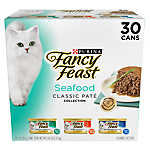 Fancy Feast® Cat Food - Seafood, Variety Pack, 30ct