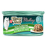 Fancy Feast® Medleys® Adult Cat Food - Seafood, Variety Pack, 18ct