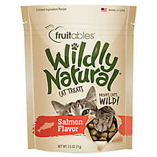Fruitables® Wildly Natural Cat Treat - Natural, Limited Ingredient, Salmon
