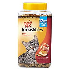 Meow Mix® Irresistibles Soft Cat Treat - Chicken