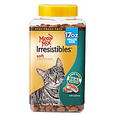 Meow Mix® Irresistibles Soft Cat Treat - Salmon