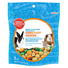 Grreat Choice® Corn Puffs Small Animal Treat