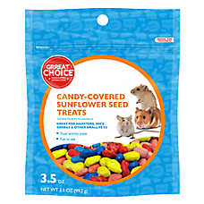 Grreat Choice® Candy-Covered Sunflower Small Animal Treats