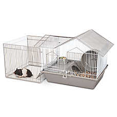 All Living Things® Triple Roof Home with Play Pen