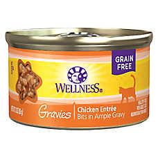 Wellness® Gravies Adult Cat Food - Grain Free, Chicken Entree