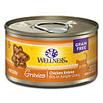 Wellness® Gravies Adult Cat Food - Grain Free, Chicken Entree