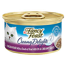 Fancy Feast® Creamy Delights Adult Cat Food - Chicken in Sauce