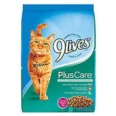 9Lives Plus Care Cat Food - Tuna & Egg