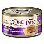 Wellness® CORE® Classic Pate Kitten Food - Natural, Grain Free, Turkey & Chicken Liver