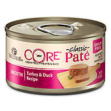 Wellness® CORE® Classic Pate Cat Food - Natural, Grain Free, Turkey & Duck