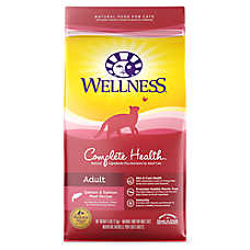 Wellness® Complete Health Adult Cat Food - Natural, Salmon & Salmon Meal