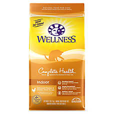 Wellness® Complete Health Indoor Cat Food - Natural, Chicken & Chicken Meal