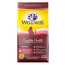 Wellness® Complete Health Senior Cat Food - Natural, Chicken & Chicken Meal