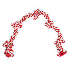 Top Paw® Canadian 5-Knot Double Rope Dog Toy