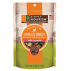 Simply Nourish™ Freeze Dried Dog Treat - Natural, Salmon