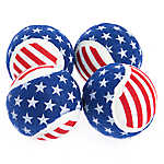 Top Paw® Americana Balls 4-Pack Dog Toy