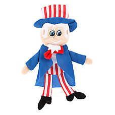 Top Paw® Americana Flattie Sam Dog Toy - Crinkle