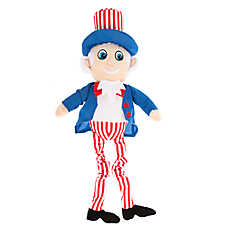 Top Paw® Americana Uncle Sam Bungee Dog Toy - Plush