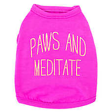 "Top Paw® ""Paws and Meditate"" Dog Tank"