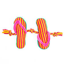 Top Paw® Flip Flop 3-Knot Rope Dog Toy