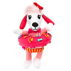 Top Paw® Poodle with Ring Dog Toy - Squeaker
