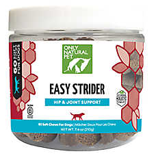 Only Natural Pet Easy Strider Hip & Joint Soft Chews