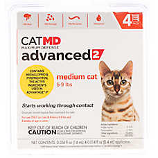 Cat MD™ Maximum Defense 5-9 lbs Advance 2 Flea Treatment