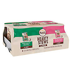 NUTRO™ Hearty Stews Large Breed Adult Dog Food - Natural, Lamb & Chicken, Variety Pack, 6ct