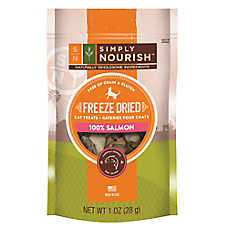 Simply Nourish™ Freeze Dried Cat Treat - Natural, Grain & Gluten Free, Salmon