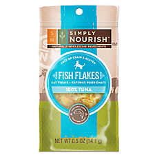 Simply Nourish™ Fish Flakes Cat Treat - Natural, Grain Free, Gluten Free, Tuna