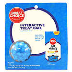 Grreat Choice® Interactive Treat Ball & Cat Treat