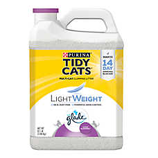 Purina® TIDY CATS® With Glade™ LightWeight Cat Litter - Clumping, Multi Cat, Clean Blossoms