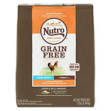 NUTRO™ Large Breed Adult Dog Food - Natural, Grain Free, Non-GMO, Chicken, Lentils & Sweet Pot