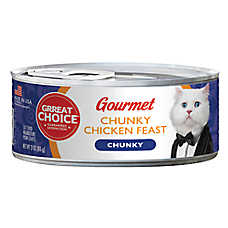 Grreat Choice® Gourmet Cat Food - Chunky Chicken Feast