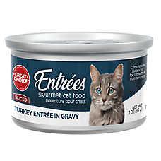 Grreat Choice® Gourmet Cat Food - Turkey Feast