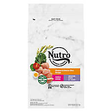 NUTRO™ Wholesome Essentials Small Breed Senior Dog Food - Chicken, Brown Rice & Sweet Potato
