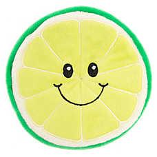Top Paw® Flattie Lime Dog Toy