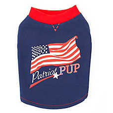 "Top Paw® ""Patriot Pup"" Dog Tee"