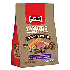 Milk-Bone® Farmer's Medley Dog Treat - Grain Free, Lamb & Spring Vegetables
