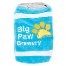 Top Paw® Flattie Big Paw Brewery Dog Toy