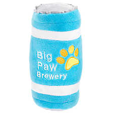 Top Paw® Big Paw Brewery Dog Toy - Plush